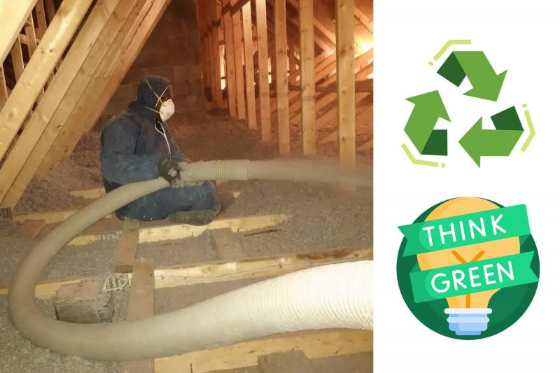 What is the Environmental Impact of Cellulose Insulation?