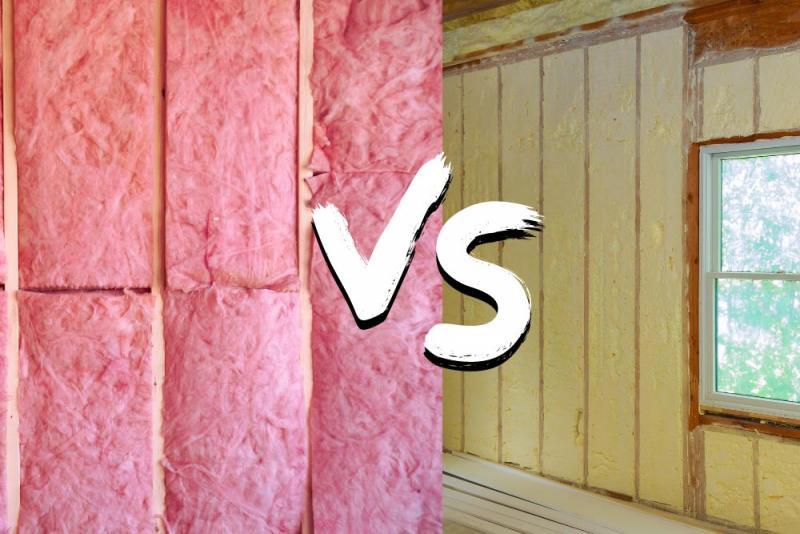 Fibreglass or Spray Foam Insulation?